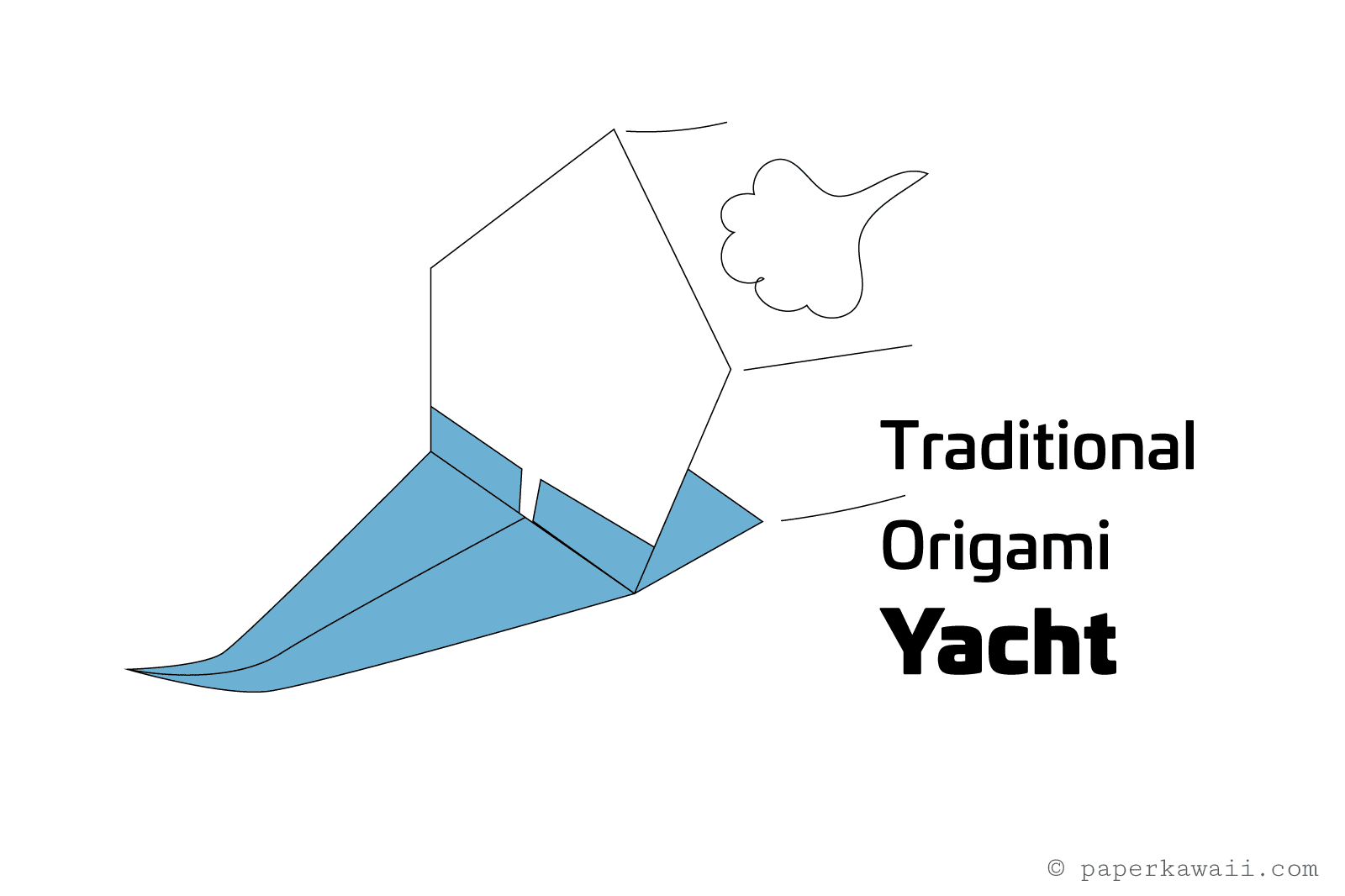 diagram origami bracelet 49cc mini chopper wiring make an sailing yacht
