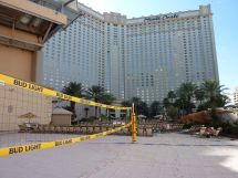 Beach Volleyball In Las Vegas Monte Carlo Pool