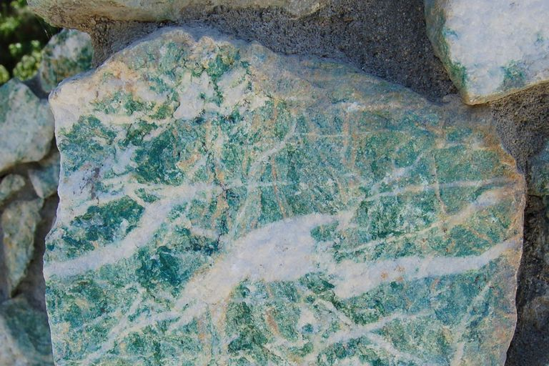 Common Green And Greenish Minerals And Rocks