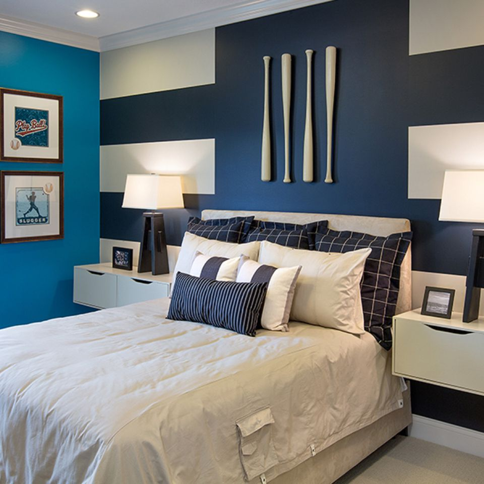 Girl Bedroom Wallpaper Border How To Decorate A Bedroom With Striped Walls