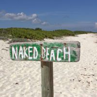 Nudist idea #29: Avoid textile beaches