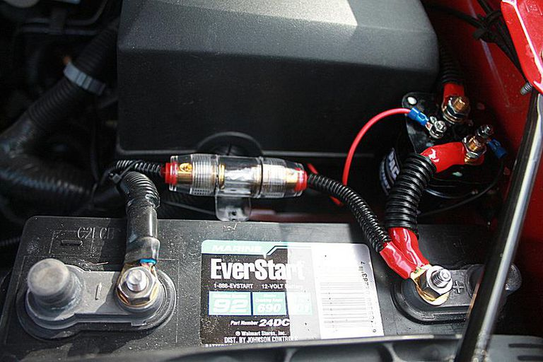 Bazooka Amp Wiring Diagram Choosing And Installing A Car Power Inverter In A Car Or Truck