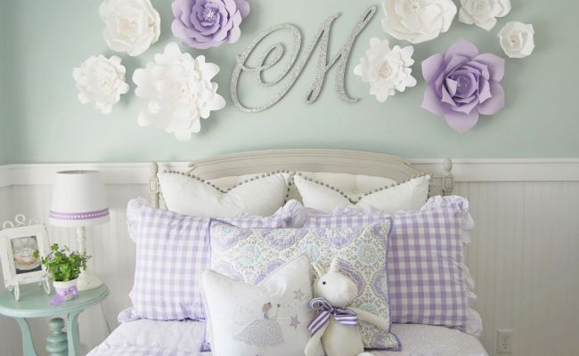24 Wall Decor Ideas For Girls Rooms