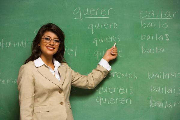 Teacher Learning Spanish
