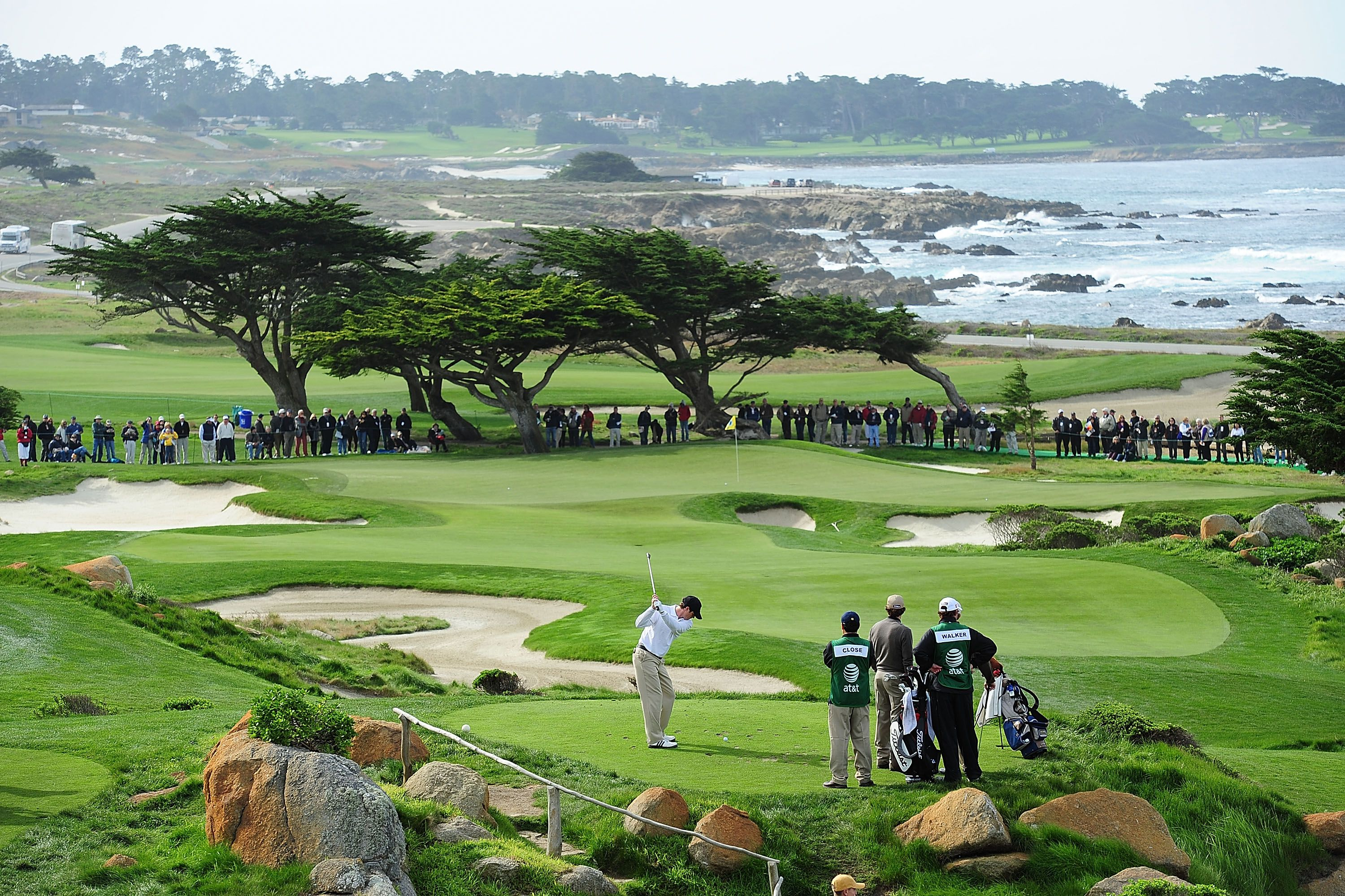 ATampT Pebble Beach National Pro Am Golf Tournament