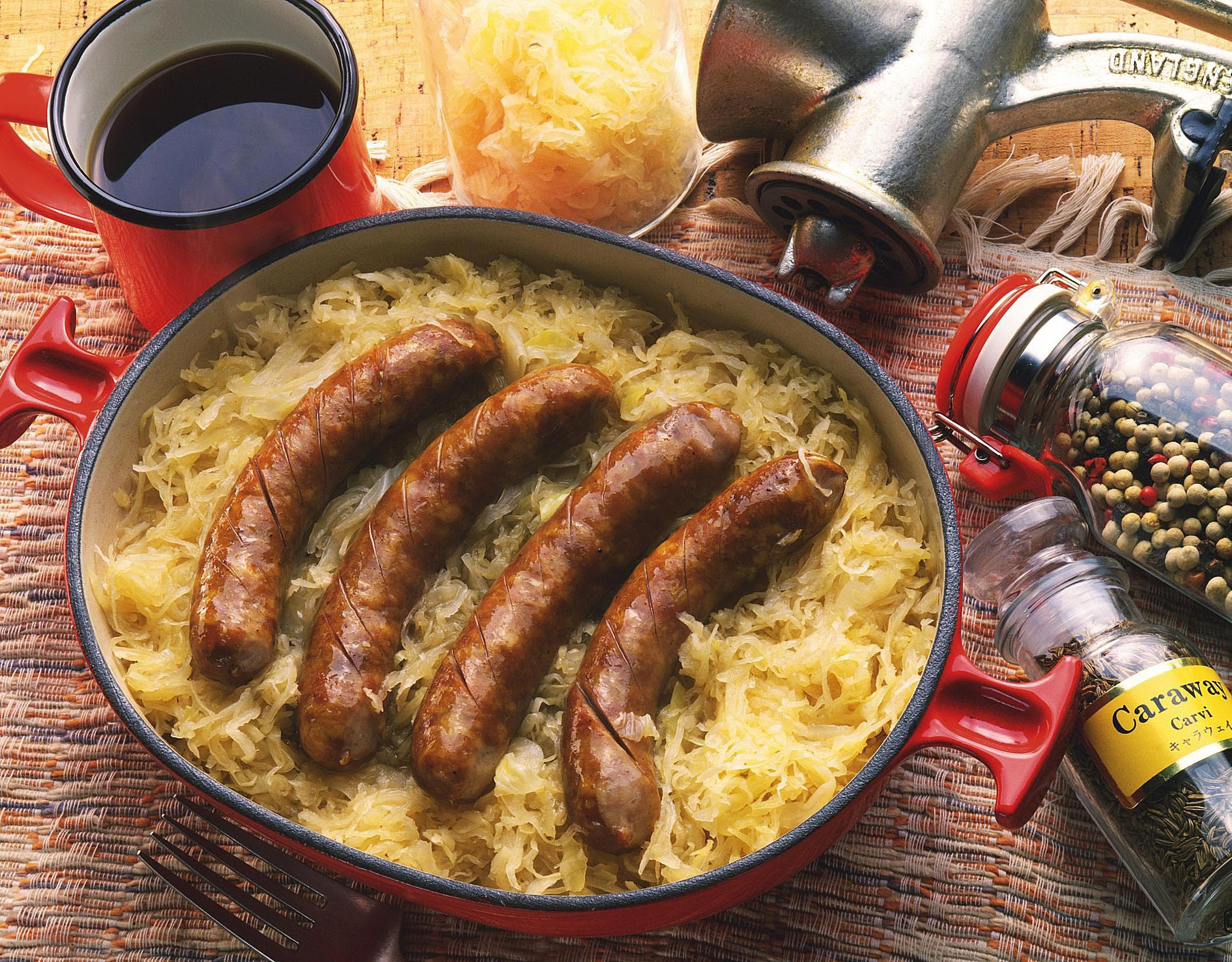 German Sausage and Sauerkraut Recipes