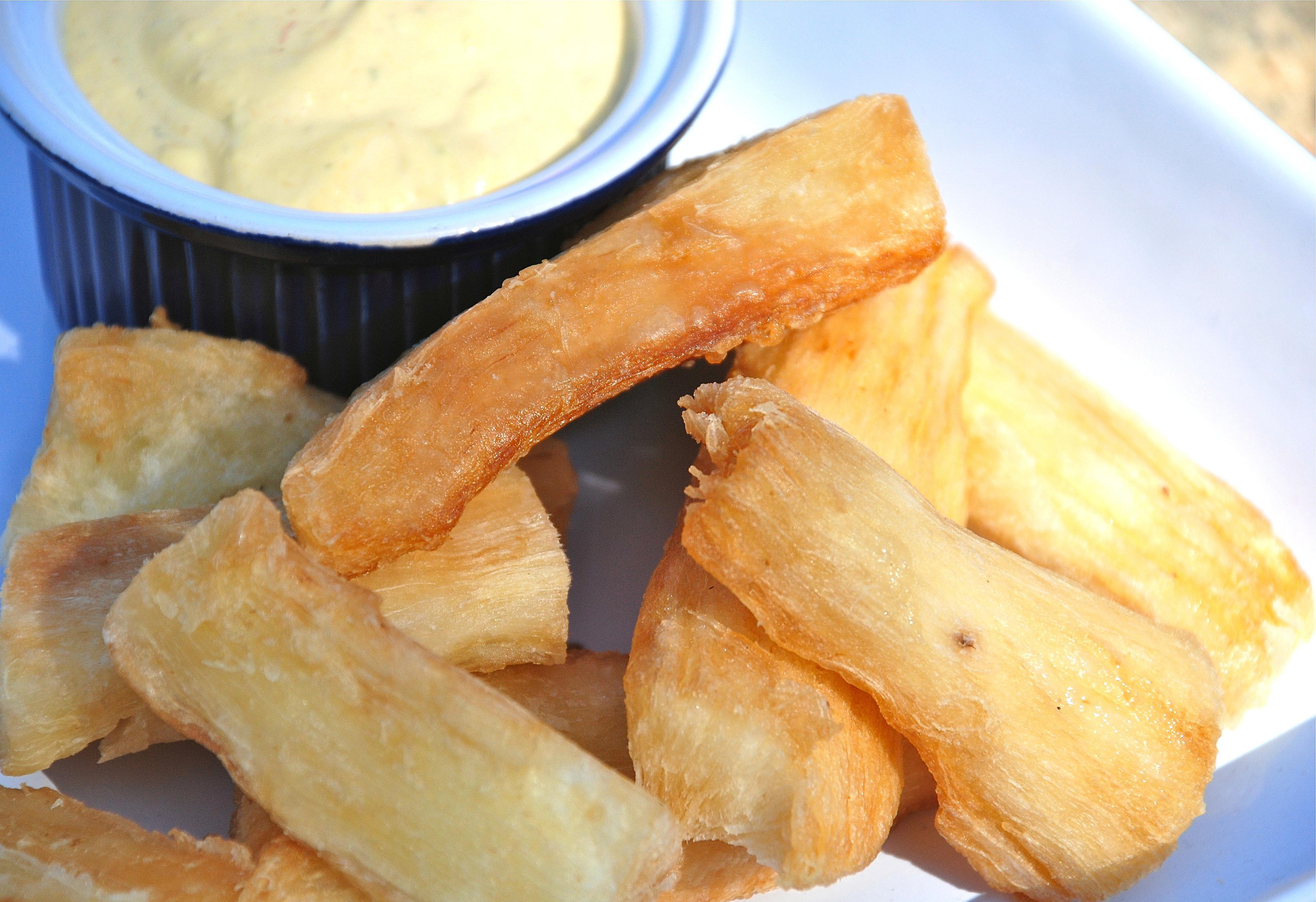 South American Yuca Fries Yuca Frita Recipe