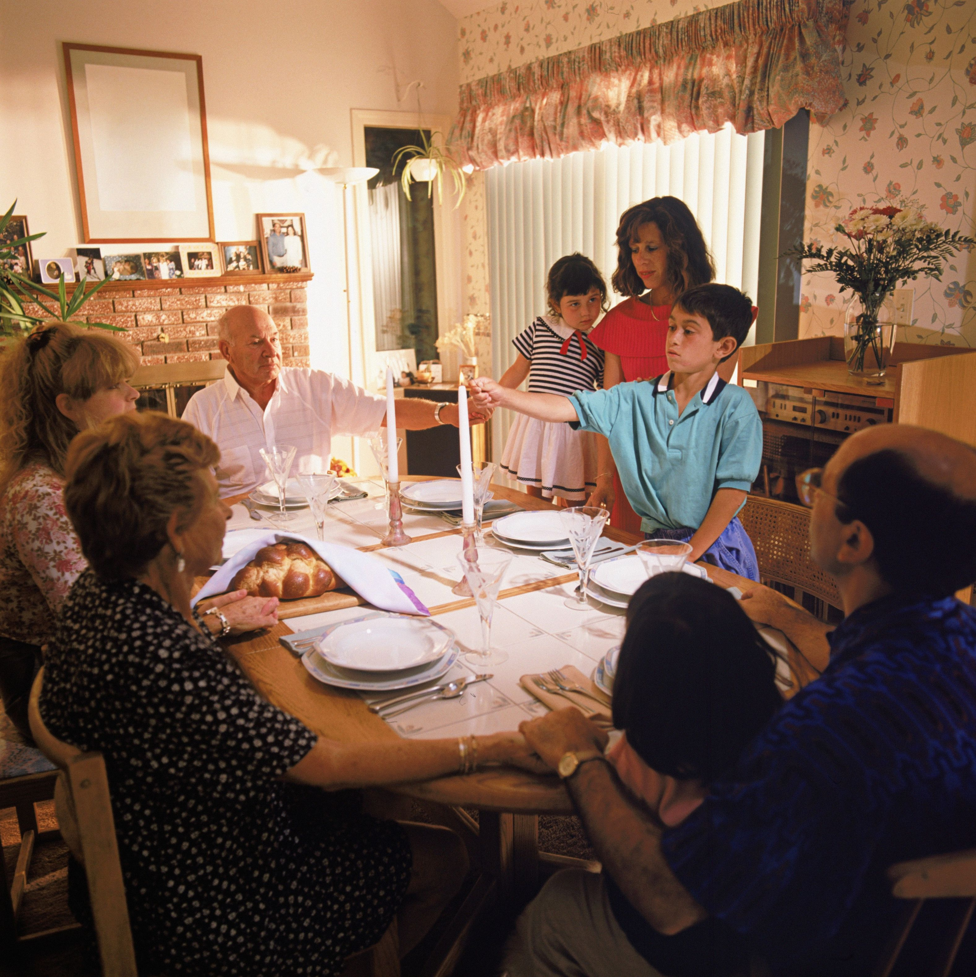 tables for small kitchen spaces oversized island the jewish sabbath dinner