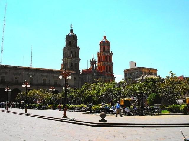 Plaza de Armas de San Luis Potosí