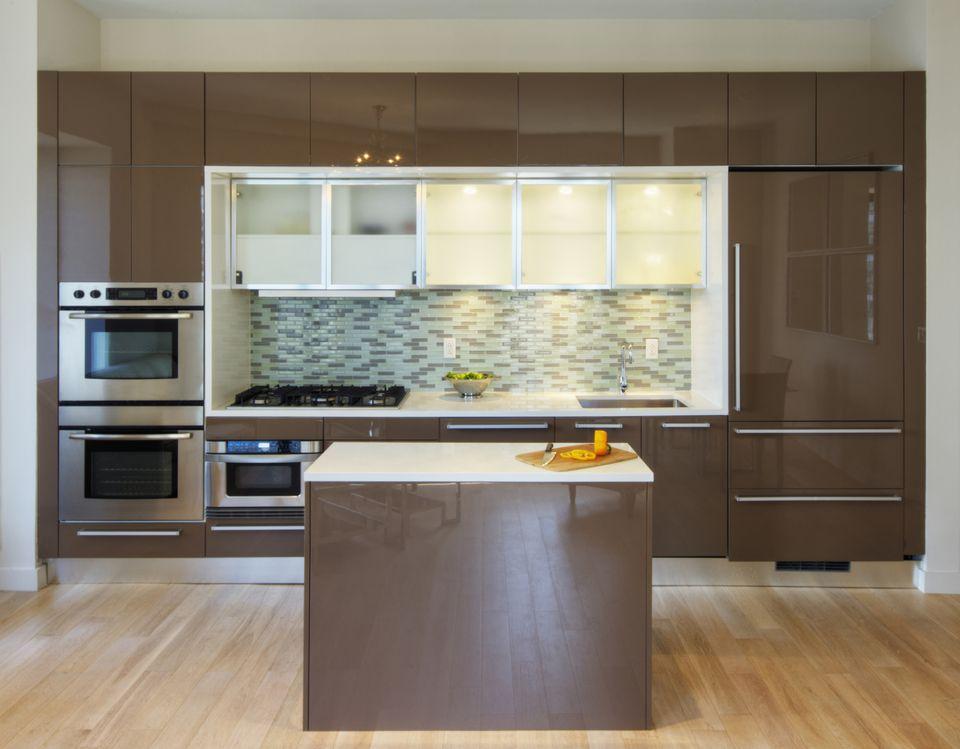 kitchen cabinet painting contractors delta faucet slab doors: the basics