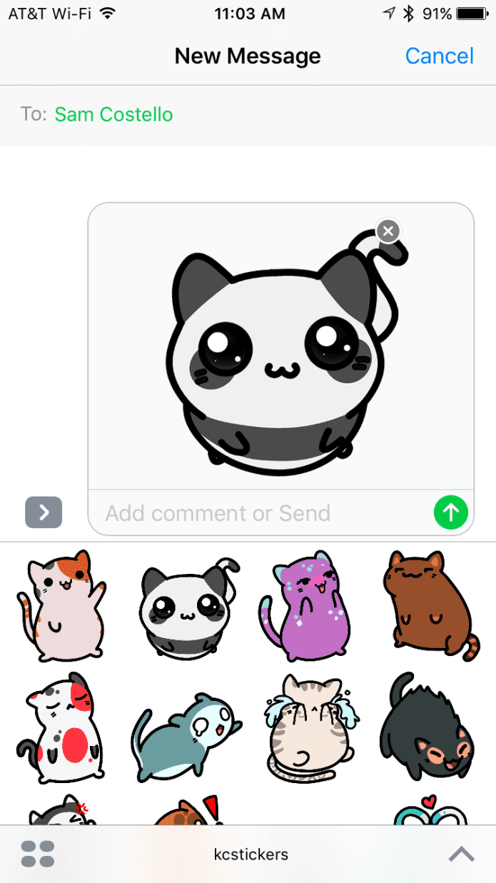 Using iMessage Apps on iPhone