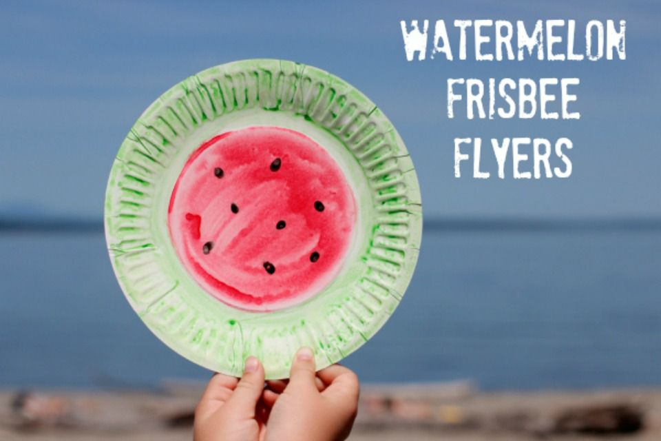 Watermelon Frisbee Flyers