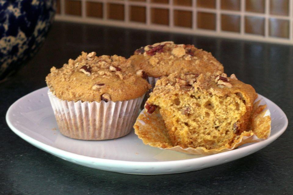 Spiced Pumpkin Butter Muffins Recipe