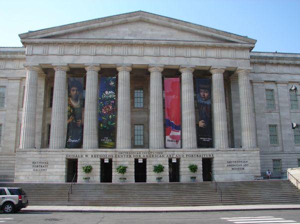 Art Museums In Penn Quarter Neighborhood Of Washington Dc