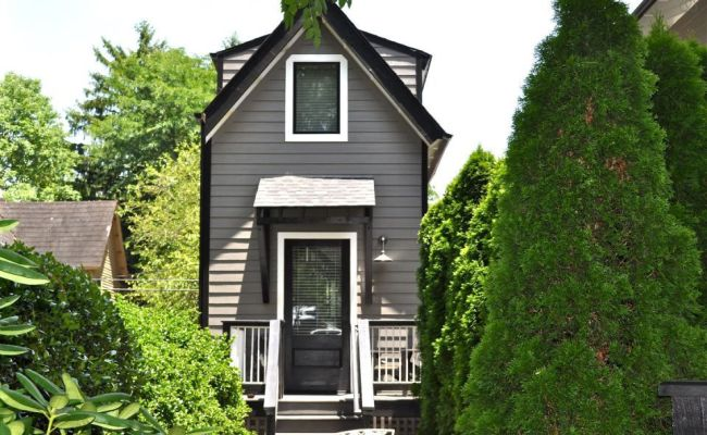 You Can Rent This Tiny Skinny House On Airbnb