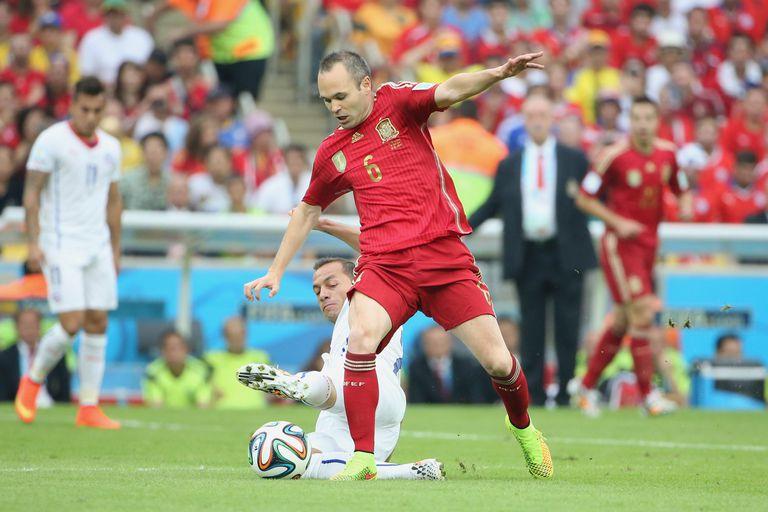 Andres Iniesta Spain