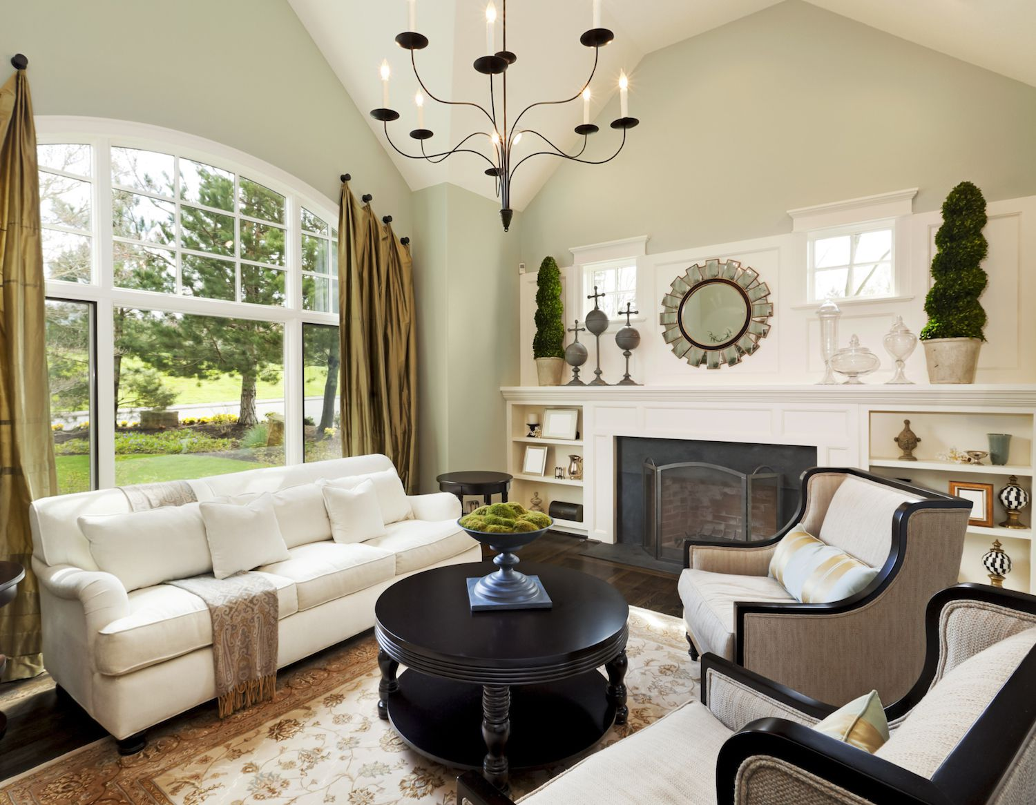 living room colour ideas with grey sofa lounge chair canada how to stage your open house appeal buyers