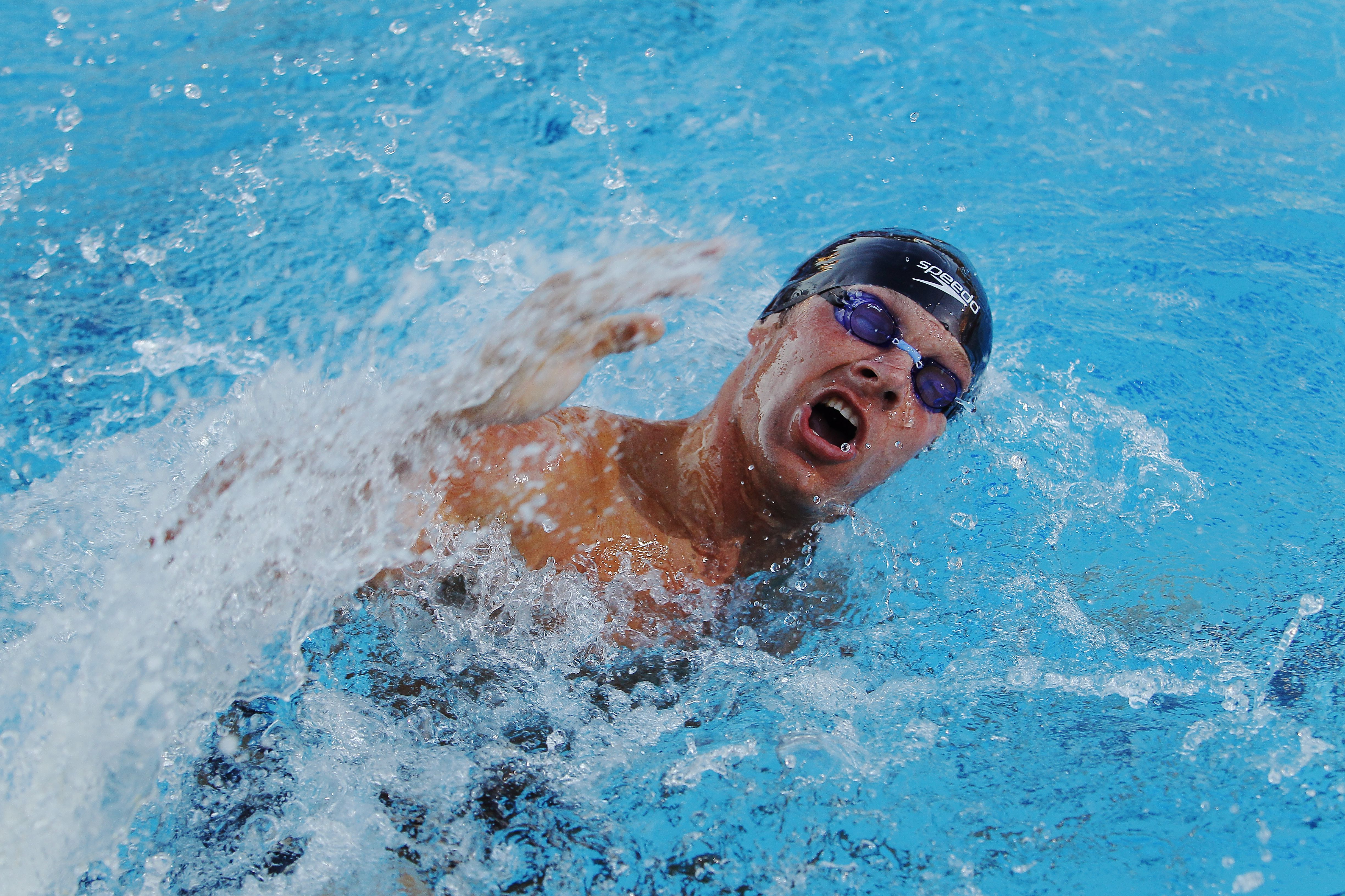 Fast Swimming Open Turns For Swimmers