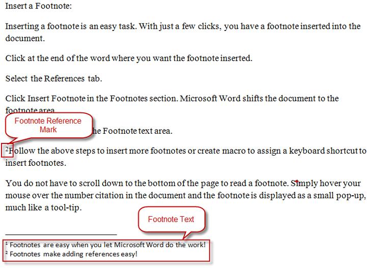 Turabian Footnote Examples