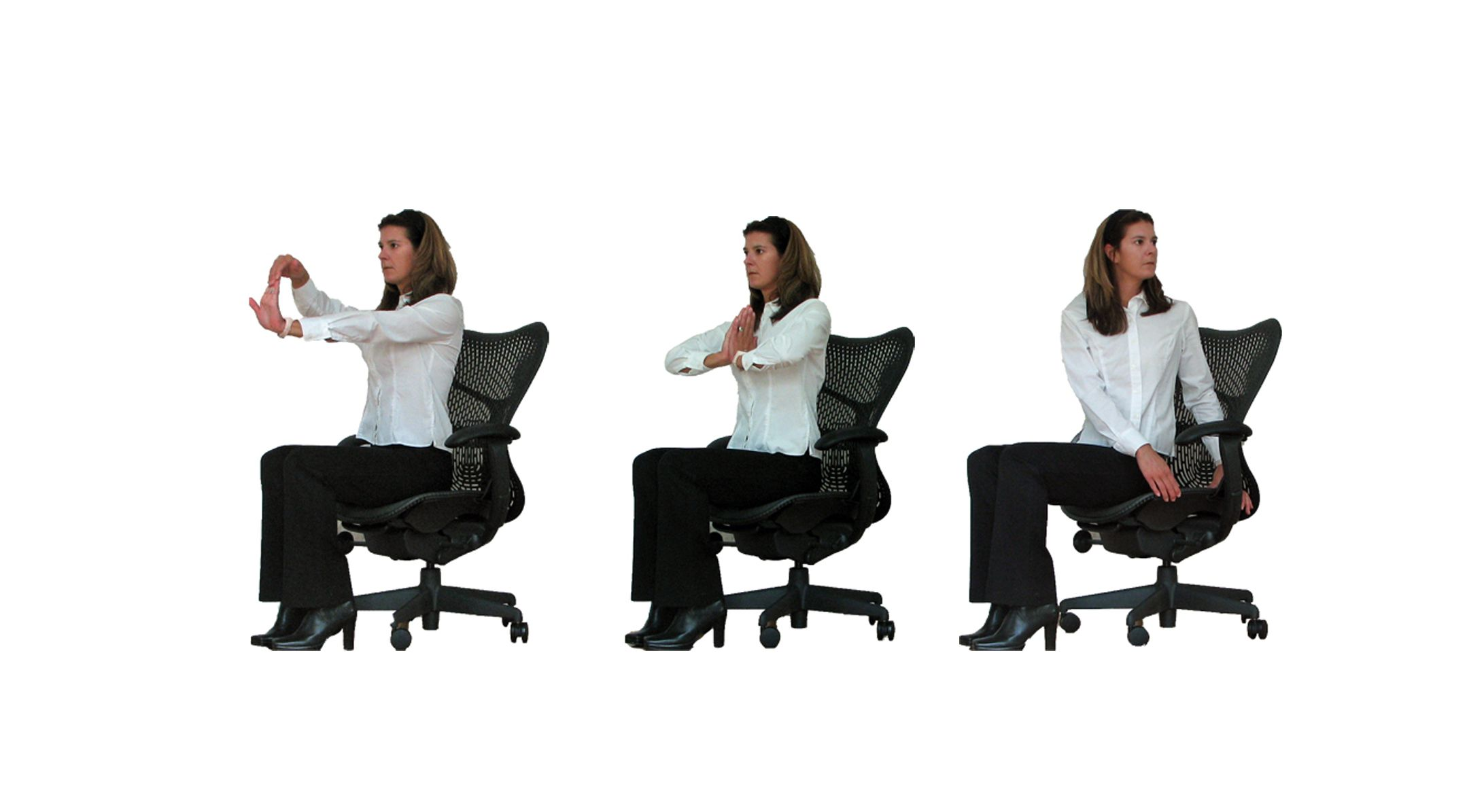 Chair Exercises For Obese Shoulder Rolls Seated Stretches To De Stress