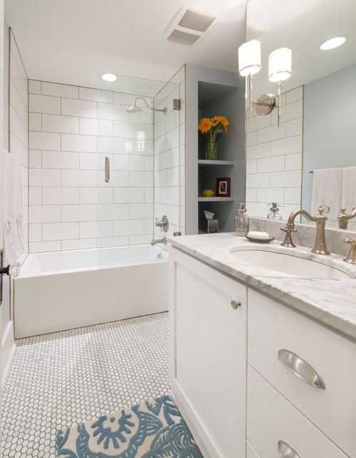 16 Beautiful Bathrooms With Subway Tile