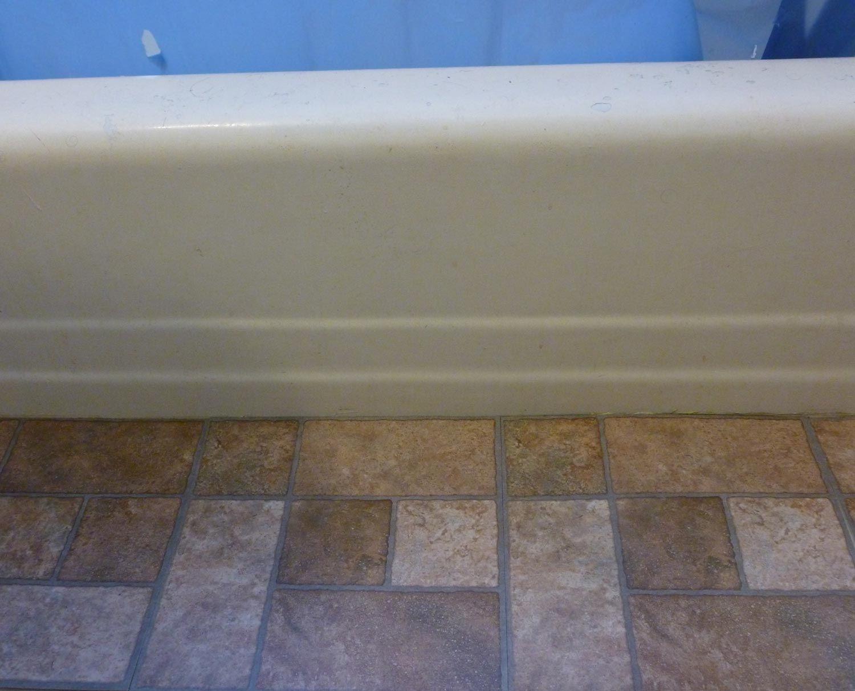 Transforming a Bathroom With SelfAdhesive Floor Tiles
