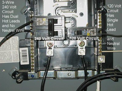 110 Volt Fuse Panel Wiring Diagram How To Install A 240 Volt Circuit Breaker