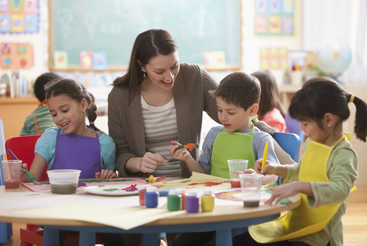 Career Profile Of Art Teacher At Elementary School