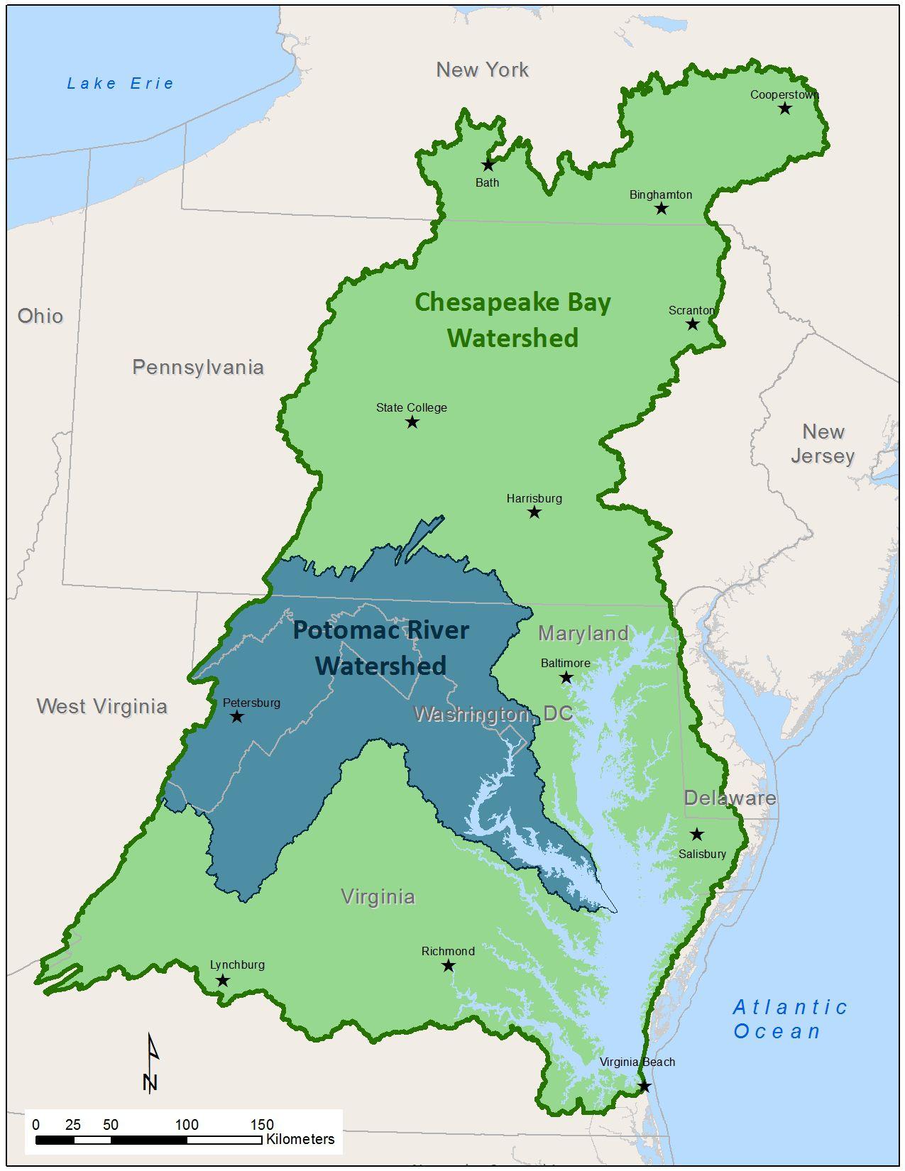 Watersheds Worksheet