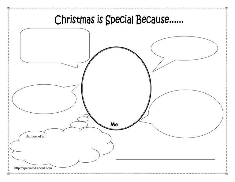 Christmas Activities, Worksheets, and Lesson Plans