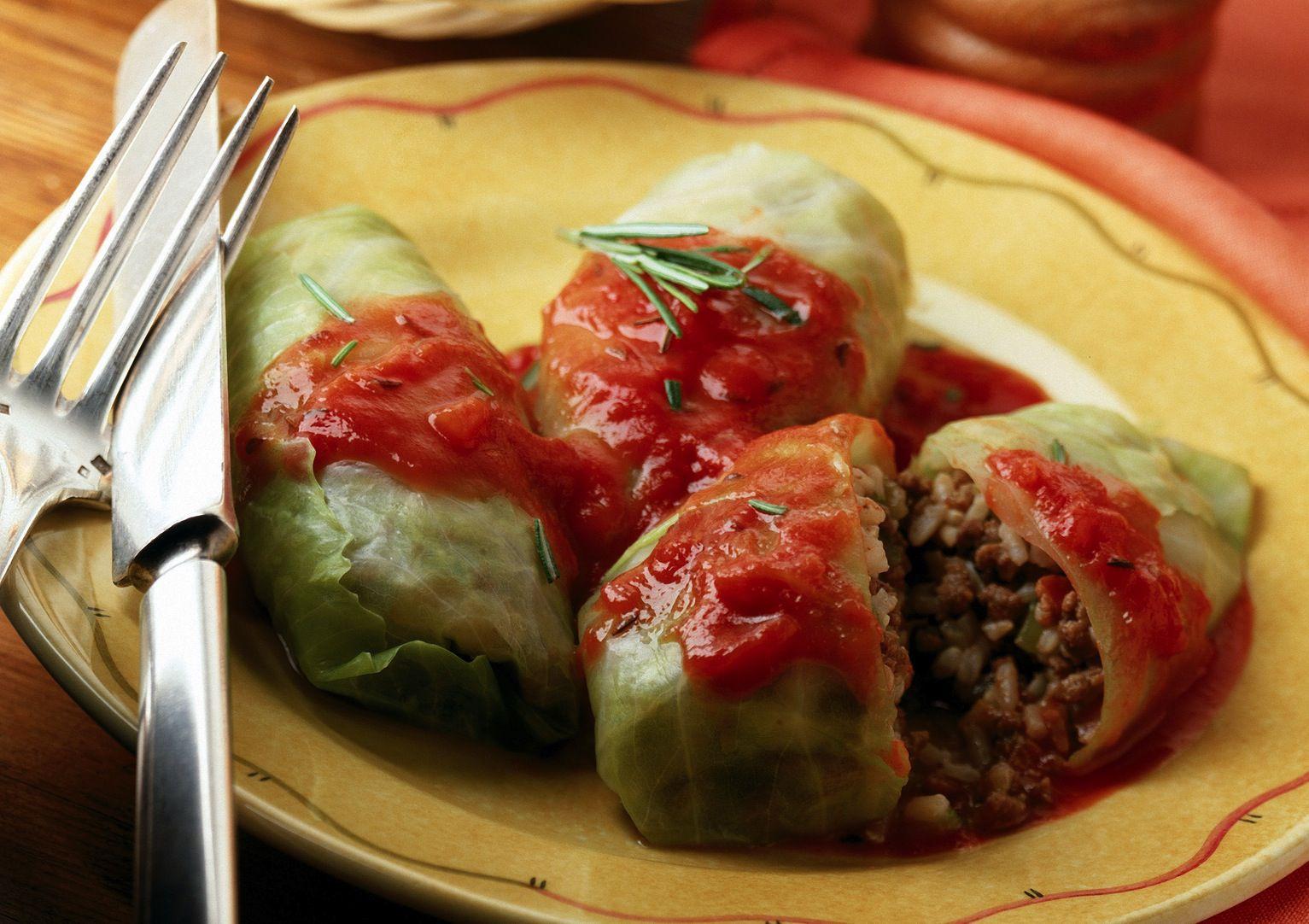 Vegetarian Bulgarian Stuffed Cabbage or Sarmi Recipe