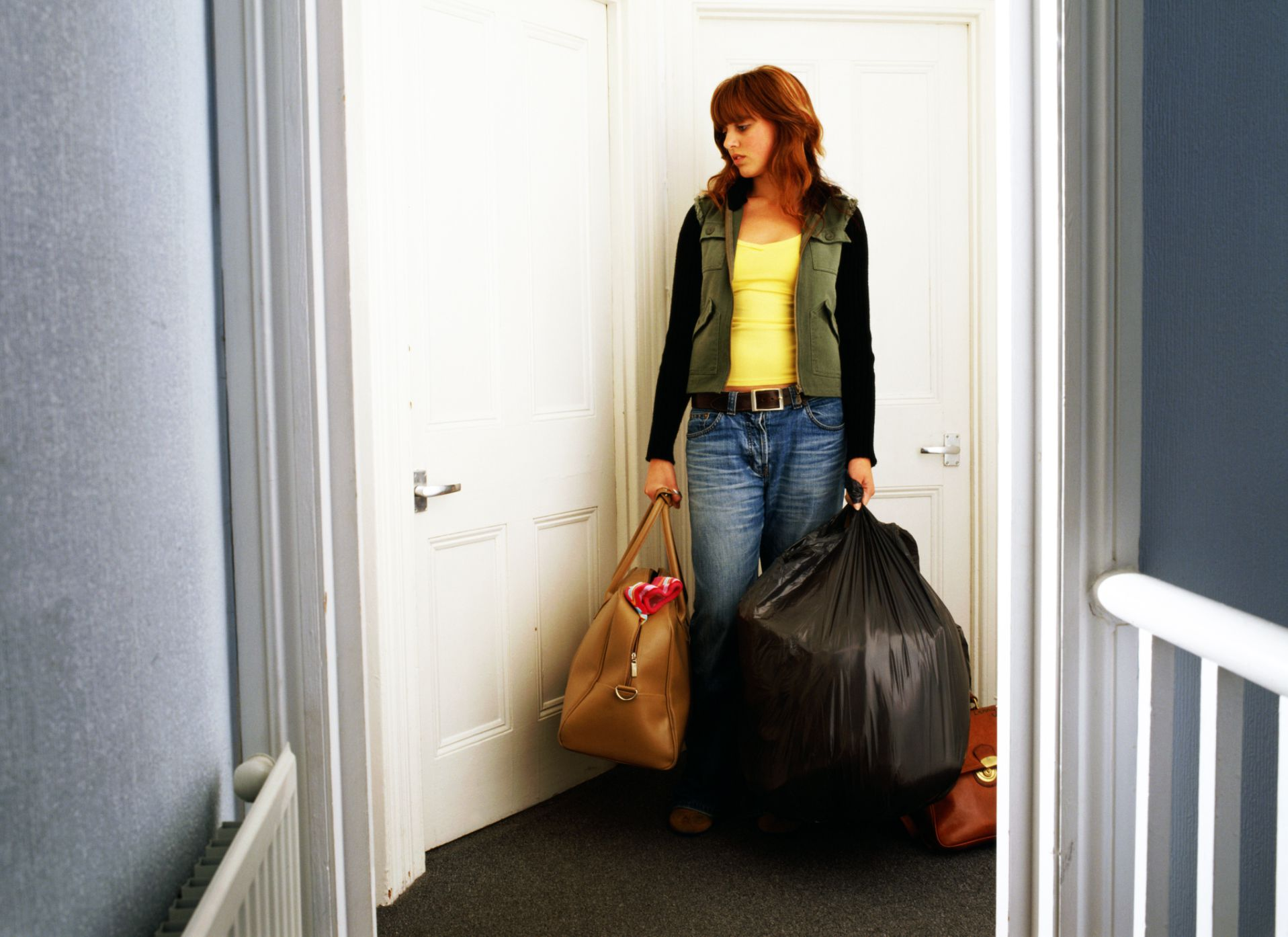 You Can Use Garbage Bags to Pack and Move