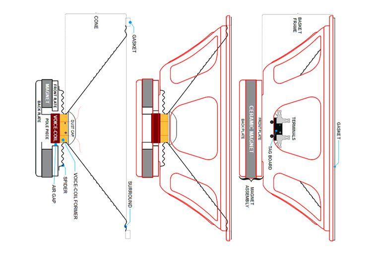 loudspeaker wiring diagram