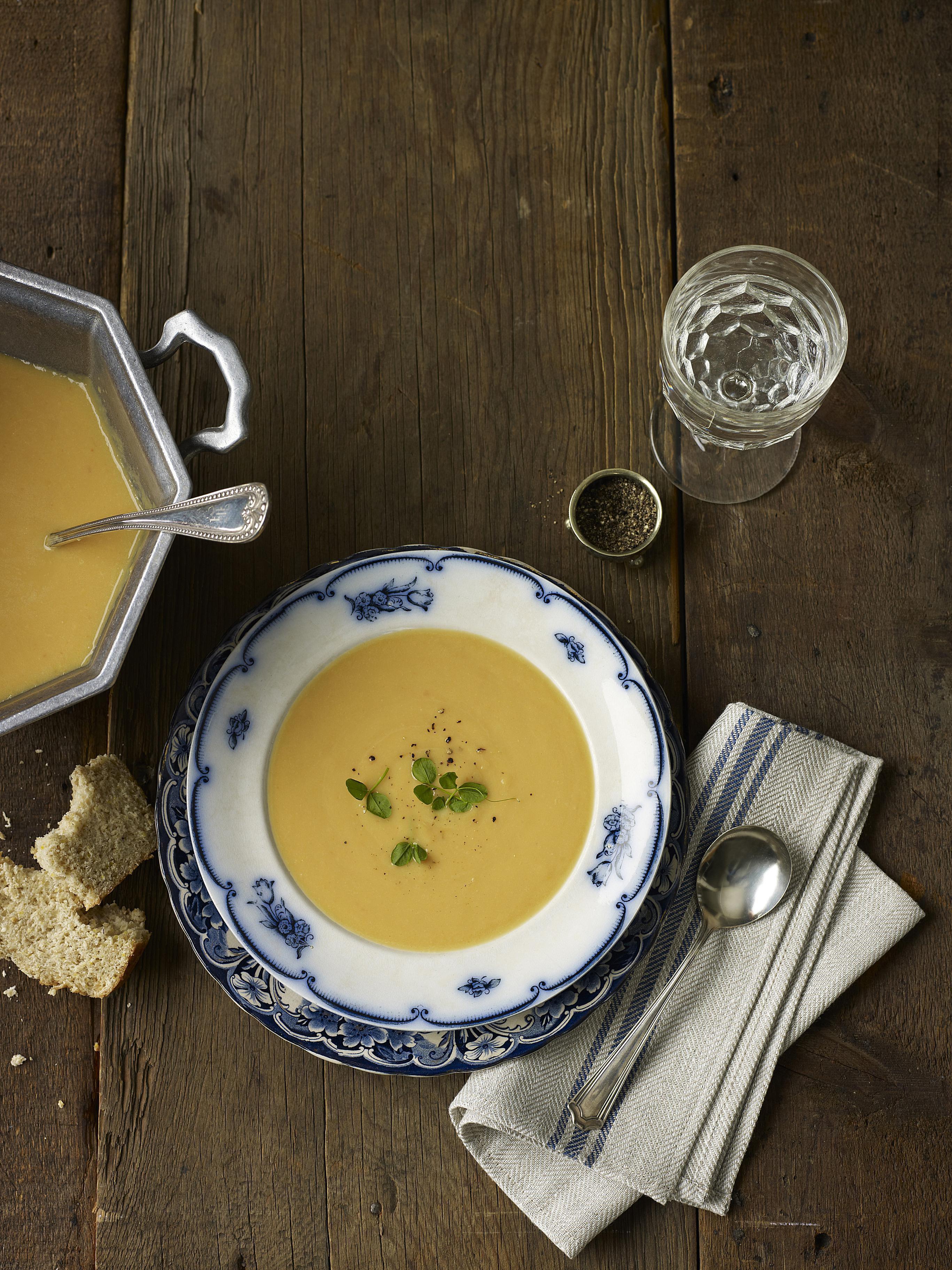 Low Fat Vegetarian Split Pea Soup Recipe