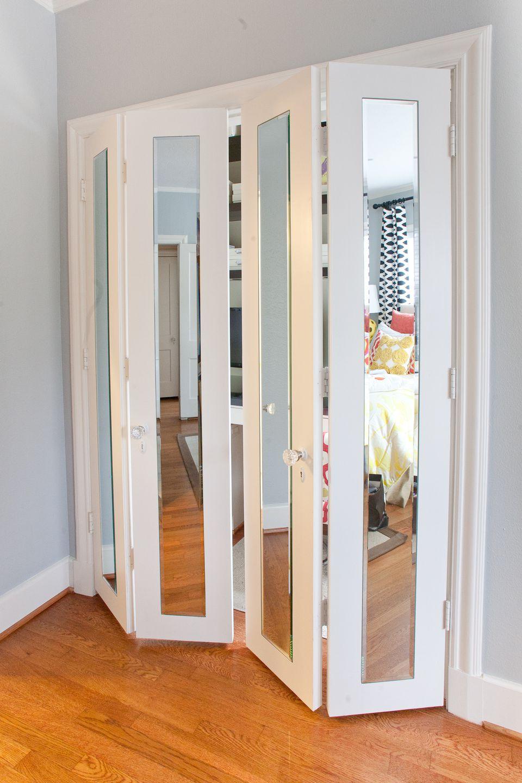 creative bedroom closet door decorating ideas