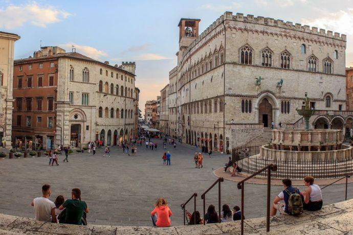 principais cidades da Itália perugia