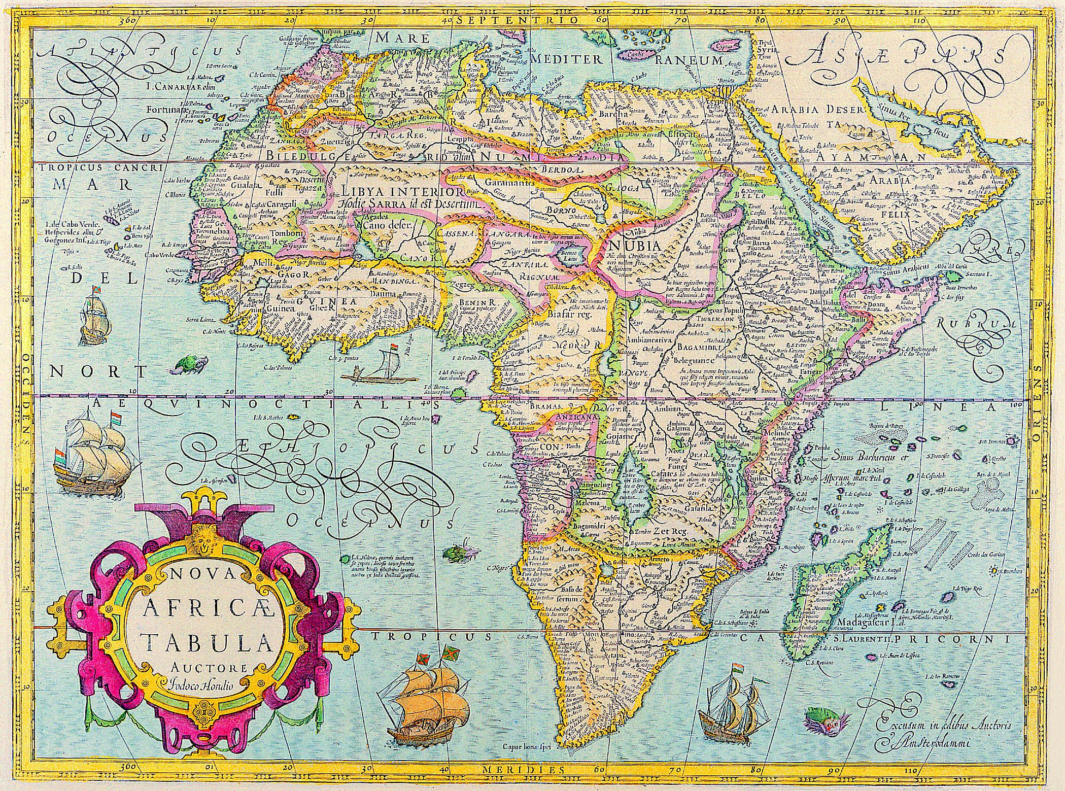 Geography Of The Countries Of Africa