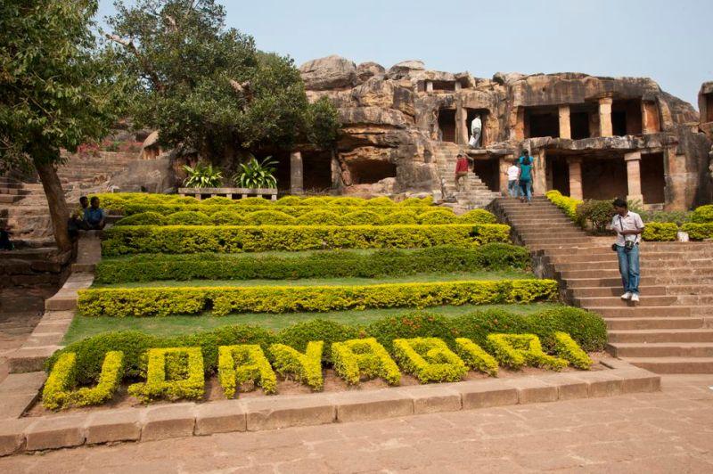 Udayagiri caves.