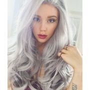ways rock gray hair color