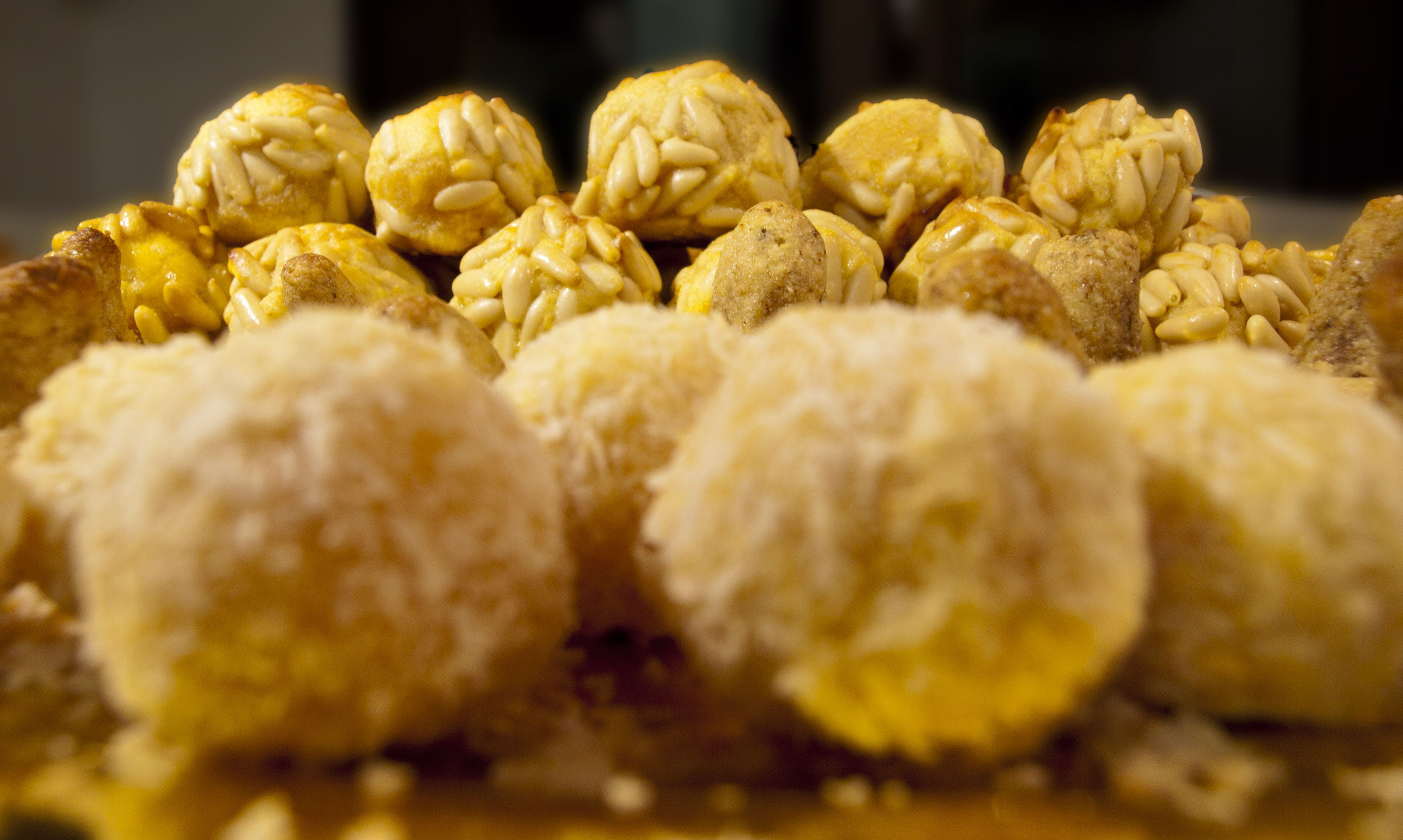 Panellets  Catalan Almond Sweets for All Saints Day