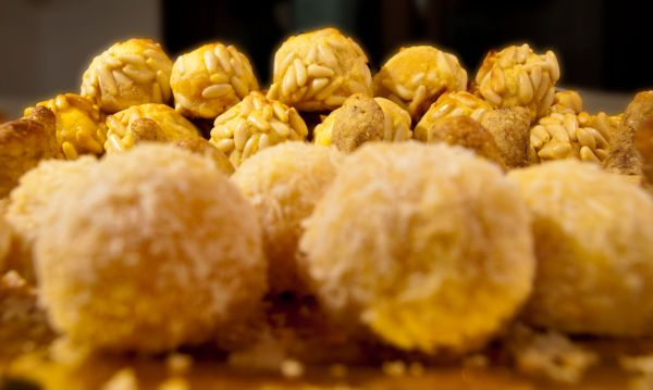 Panellets - Catalan Almond Sweets Saints Day