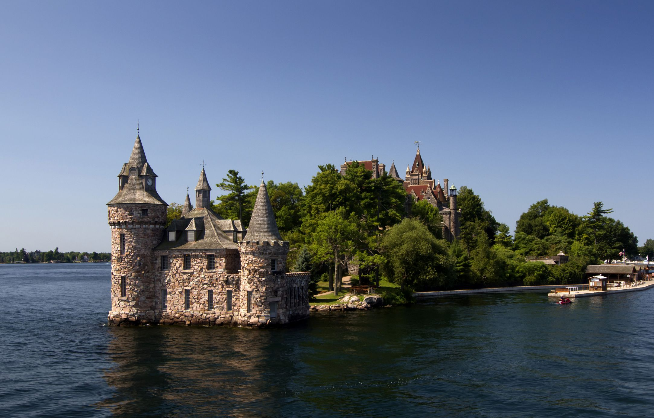 Explore Boldt Castle In The 1000 Islands In New York