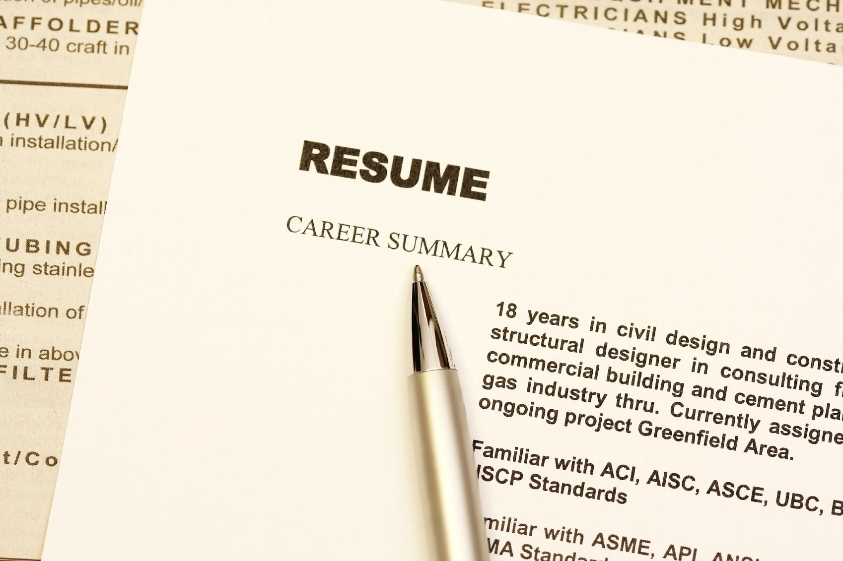 Chronological Resume Definition Format And Examples