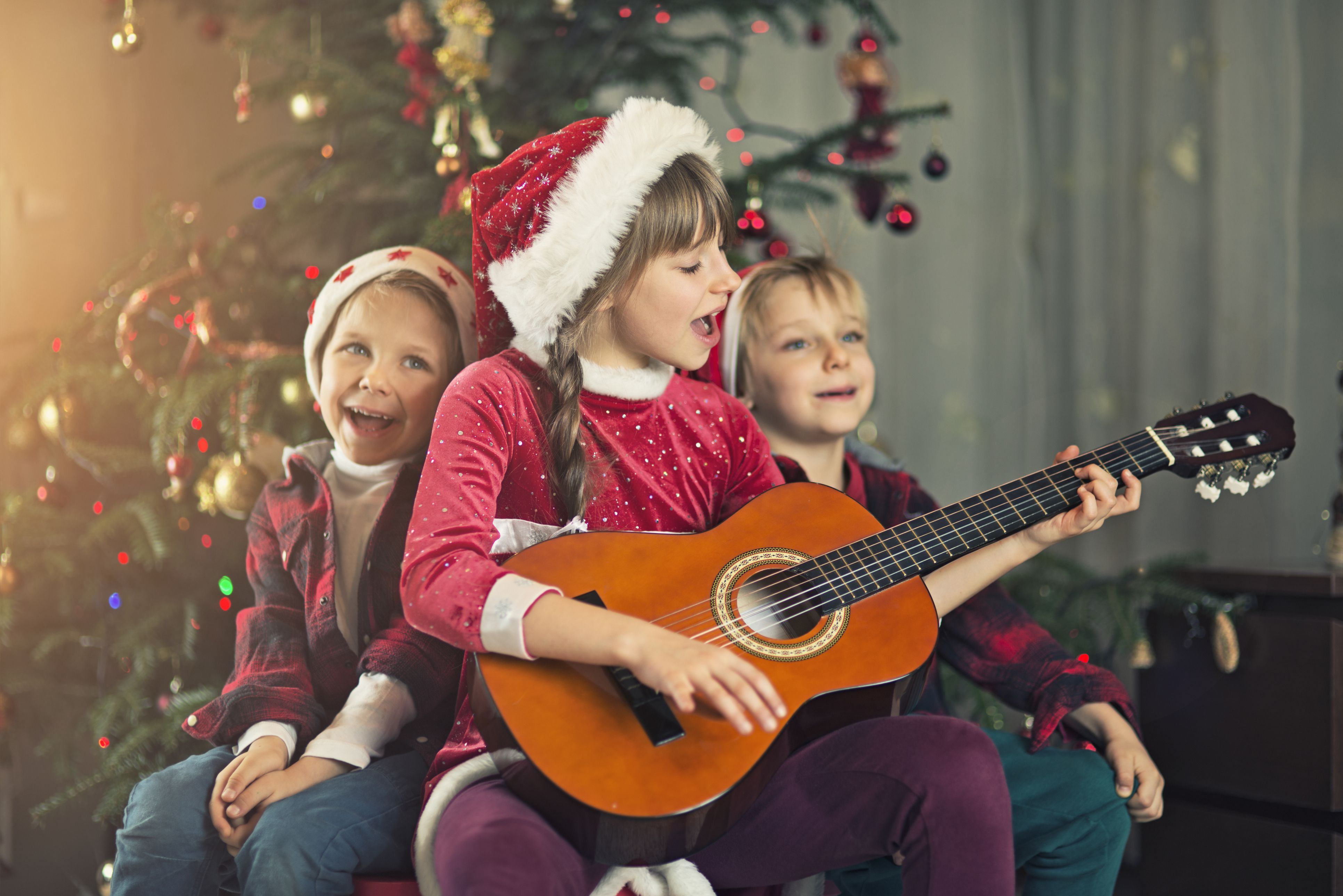 Celebrate with a Christmas Caroling Party for Kids