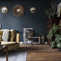 What Is The Best Color For Living Room Feng Shui Wall Colors With Dark Furniture 17 Rooms And Moody Schemes