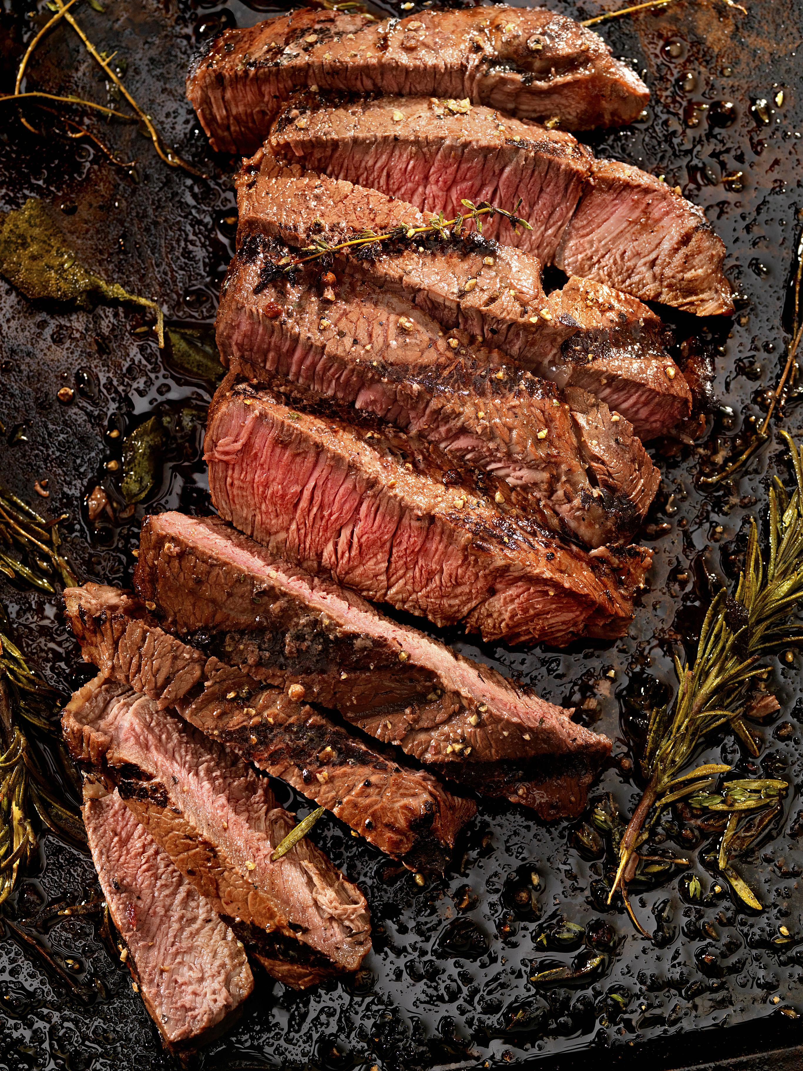Fajita Style New York Strip Steaks Recipe