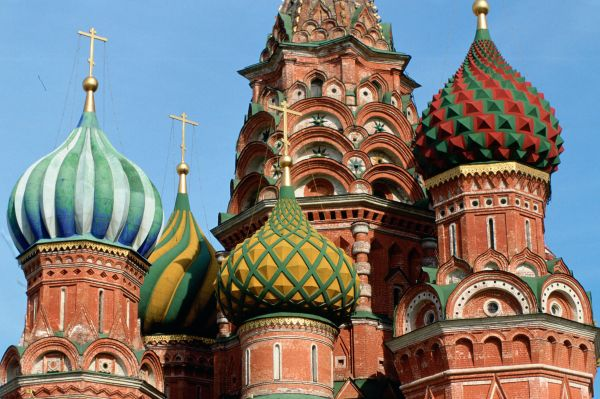 Basil Cathedral Moscow Russia