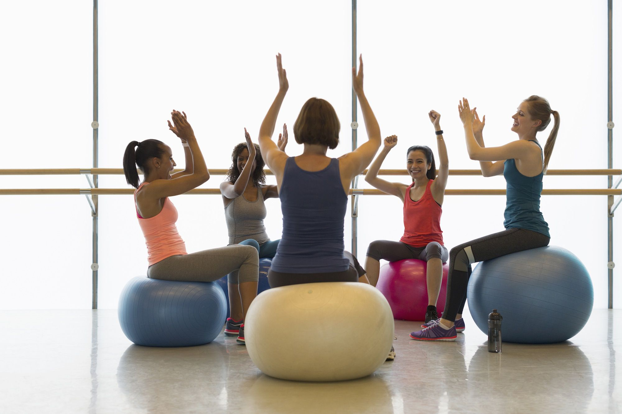 Types of Exercise Balls for Workouts