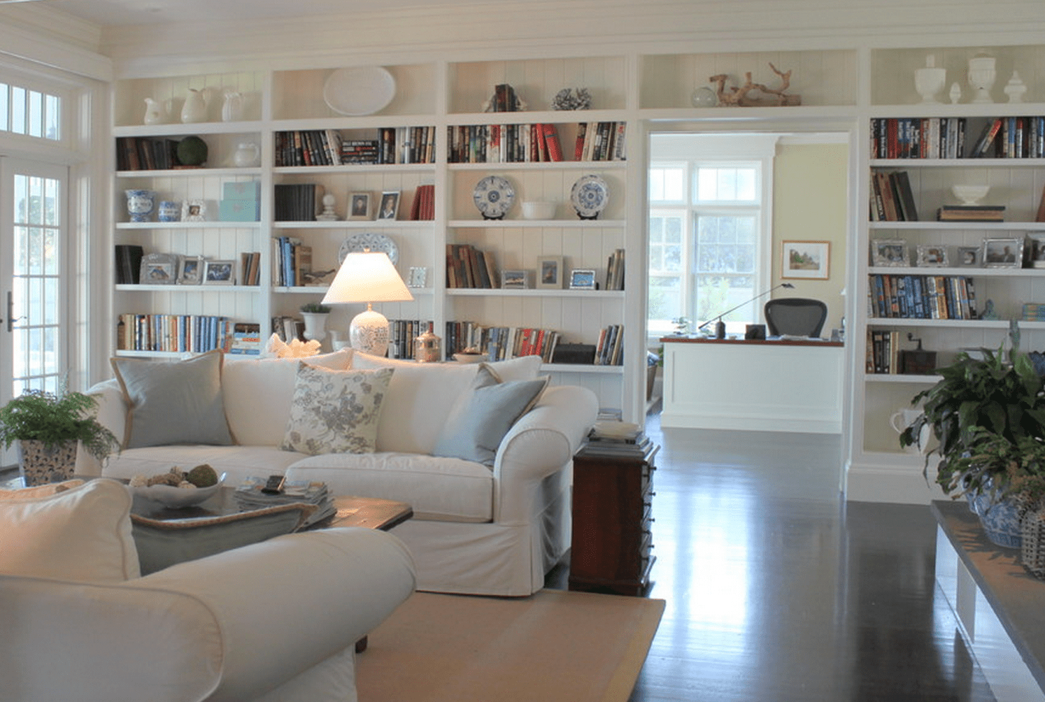 living room bookcases & built in | best family rooms design