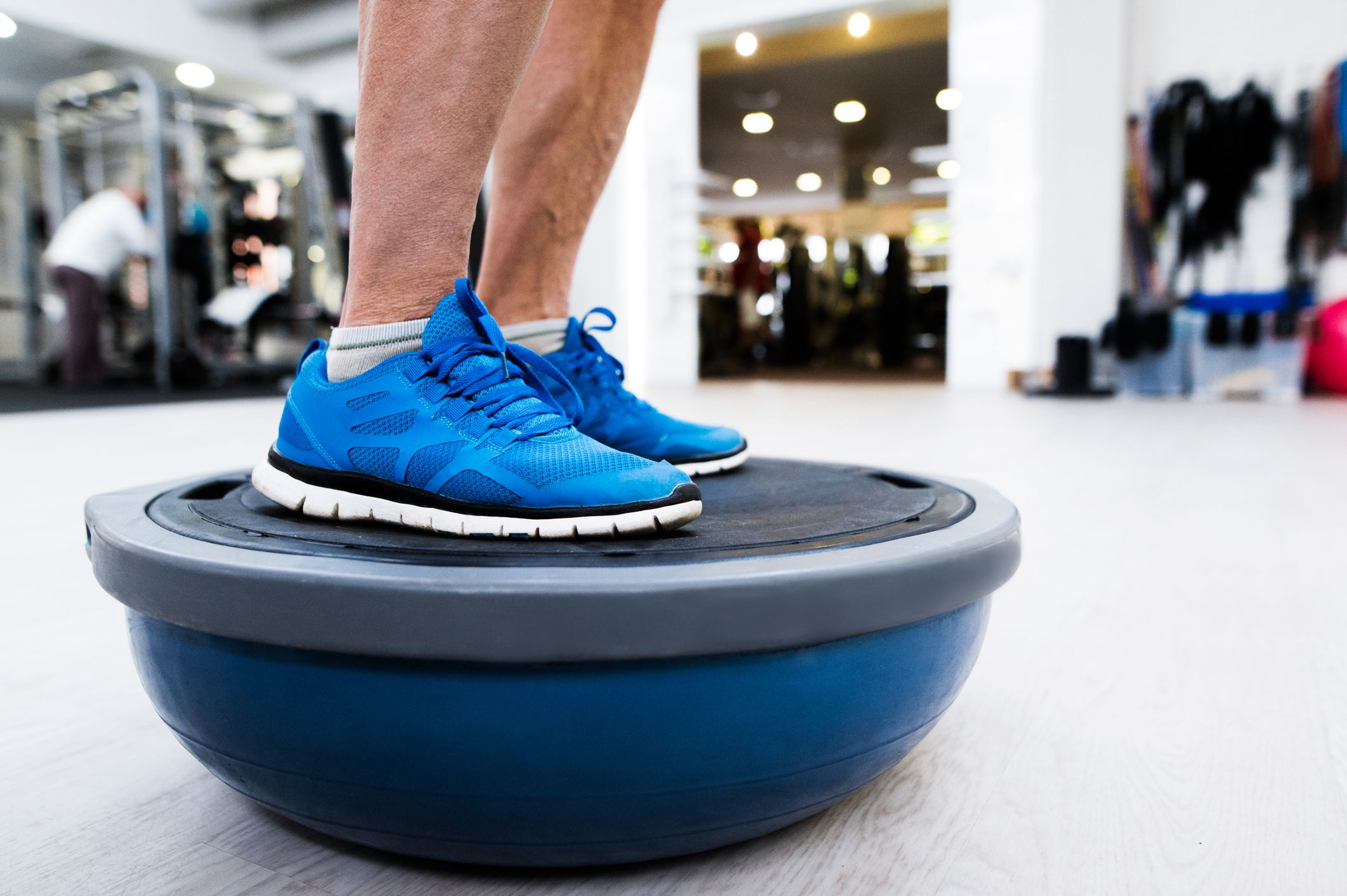 BOSU Balance Trainer and How to Use It